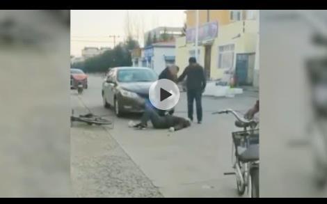 醉驾撞老人踹29脚 以为是碰瓷的 已被警方刑事拘留