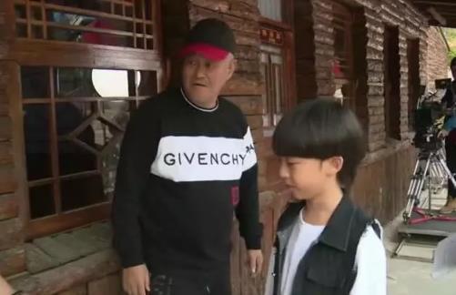 赵本山外孙曝光 拍刘老根3里饰演刘老根的孙子